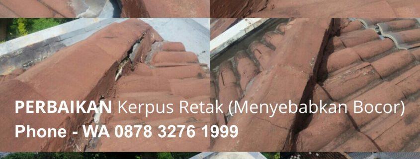 Perbaikan Atap Bocor Sindoro